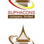 ตัวอย่างออกแบบ Logo บริษัทรับออกแบบบ้านทรงไทย