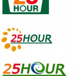 Logo ของร้านสะดวกซื้อแห่งหนึ่งใช้หลัการเบญจธาตุ เพื่อความ25hour