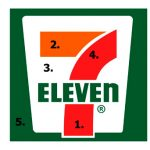 แม้แต่บริษัทชั้นนำอย่าง 7eleven หรือไมโครซอฟร์ ก็ยังใช้ Logo มงคล