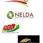 โลโก้เบญจธาตุของบริษัท NELDA